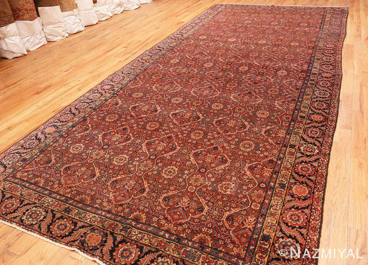 Full Large Antique Persian Farahan carpet 47201 by Nazmiyal
