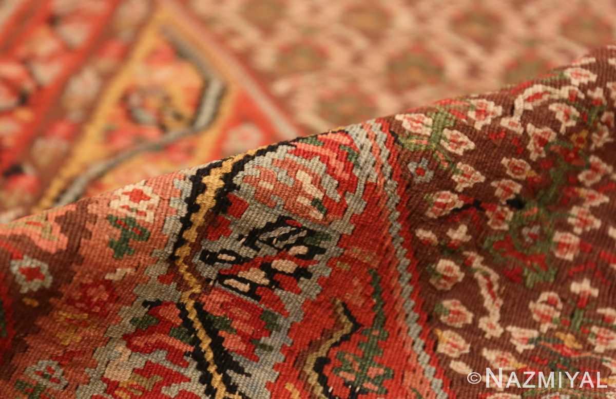 Pile Antique Persian Senneh Kilim rug 47278 by Nazmiyal