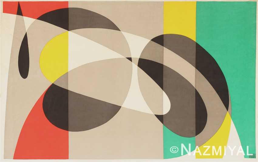 Swedish Velvet Tapestry by Pierre Olofsson 47292 Nazmiyal