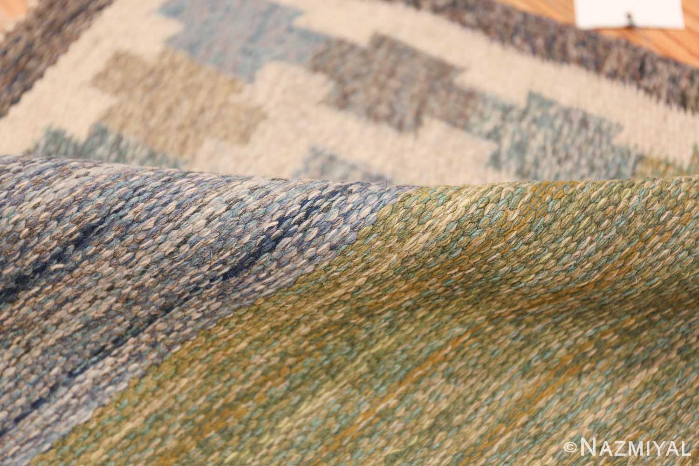 Vintage Scandinavian Rug by Ingegerd Silow 47304 Colorful Pile Nazmiyal