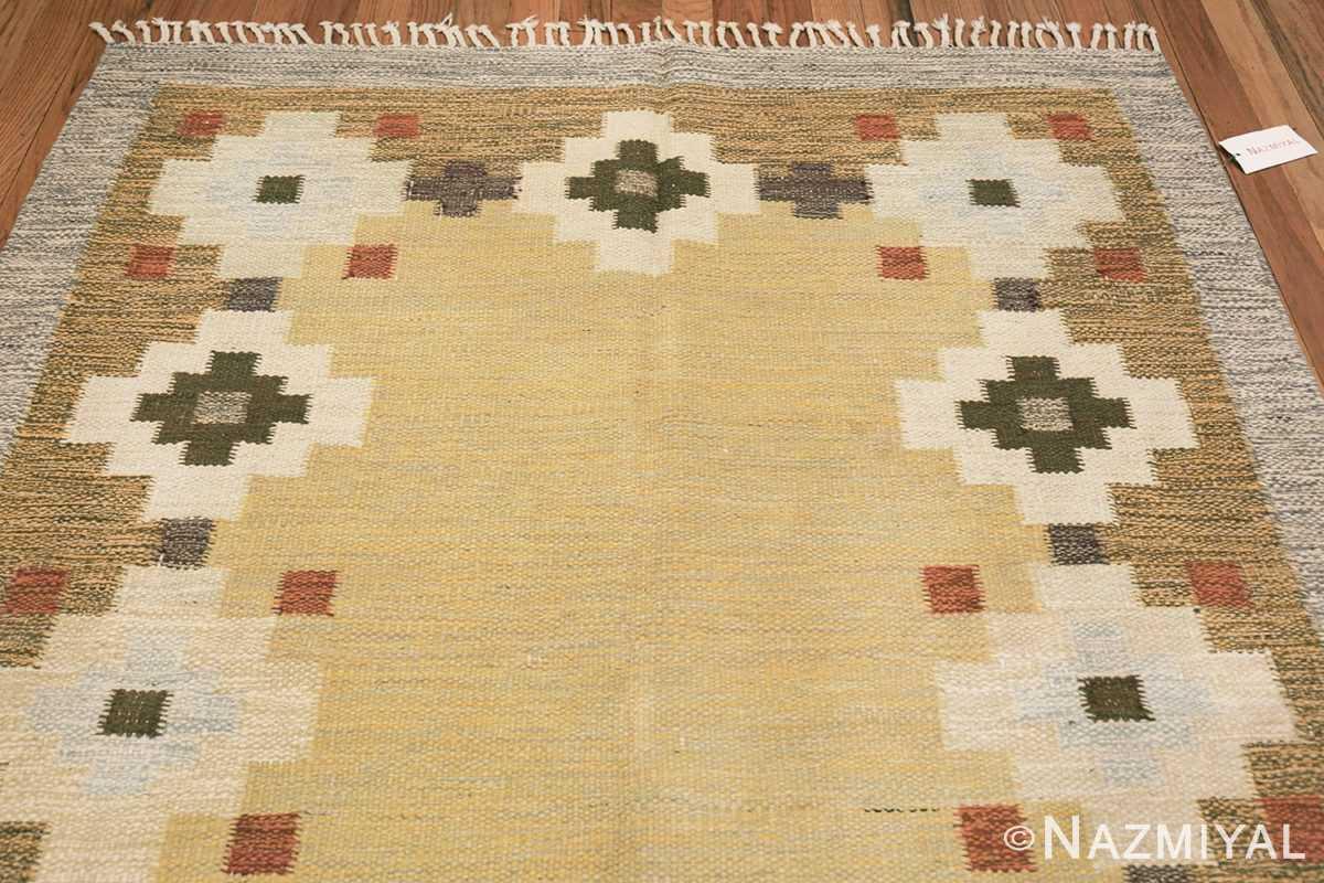 vintage scandinavian swedish rug 47307 top Nazmiyal