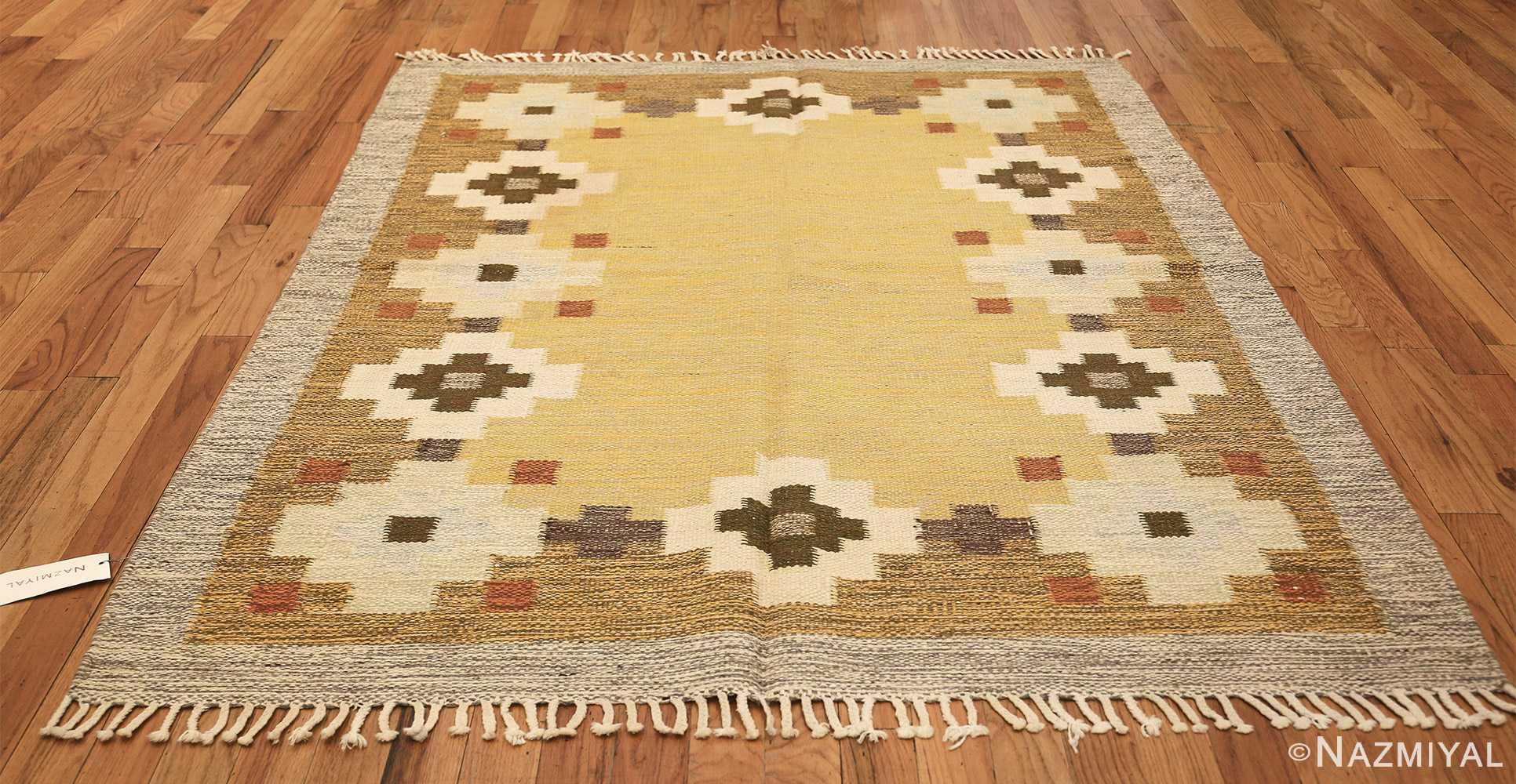 vintage scandinavian swedish rug 47307 whole Nazmiyal