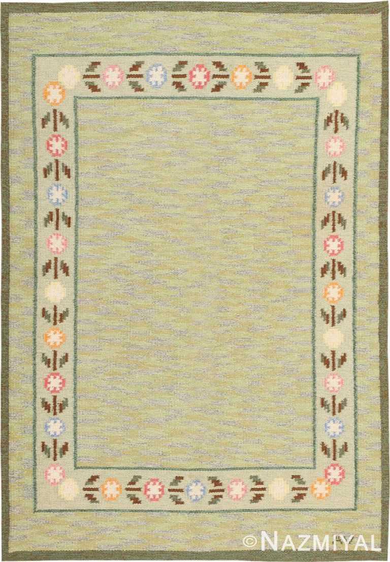 Vintage Swedish Kilim 47301 Detail/Large View