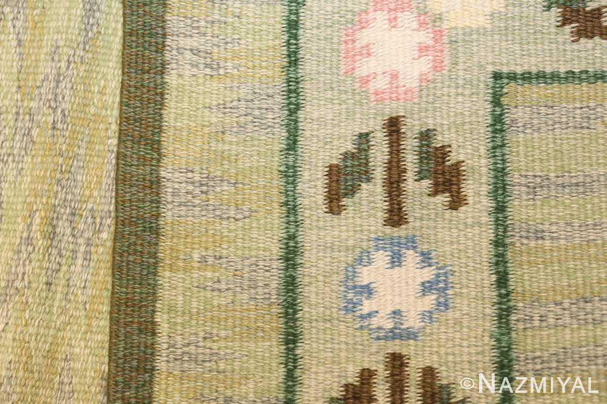 vintage swedish rug 47301 knots Nazmiyal