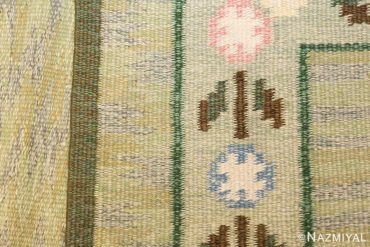 vintage swedish rug 47301 knots Nazmiyal