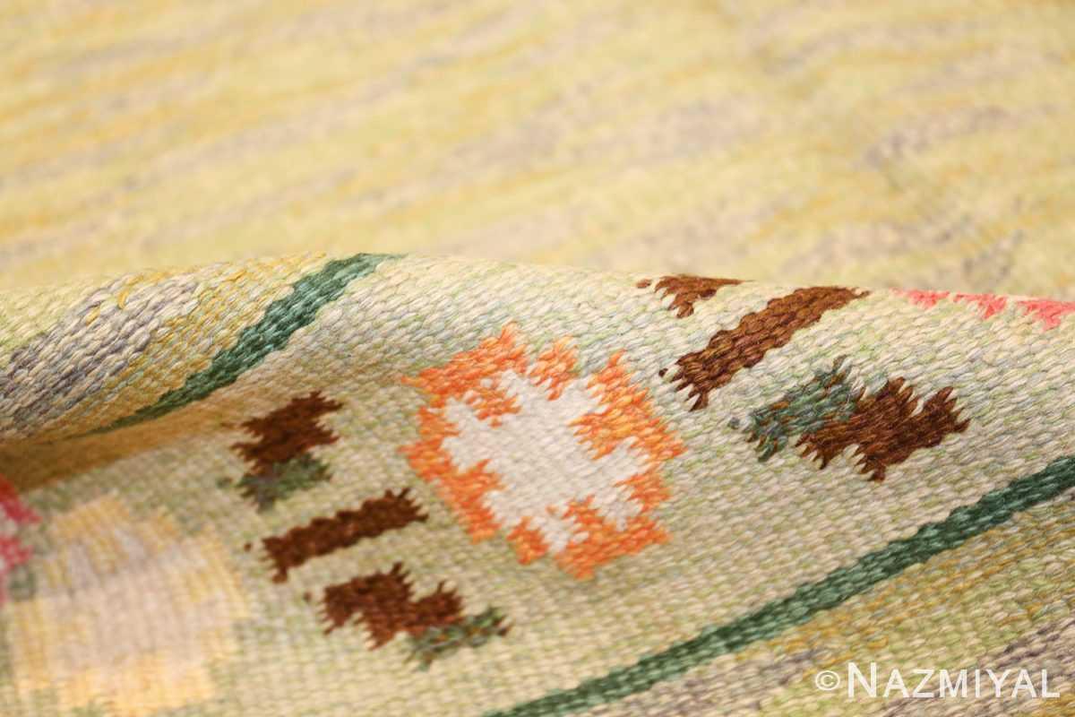 vintage swedish rug 47301 pile Nazmiyal