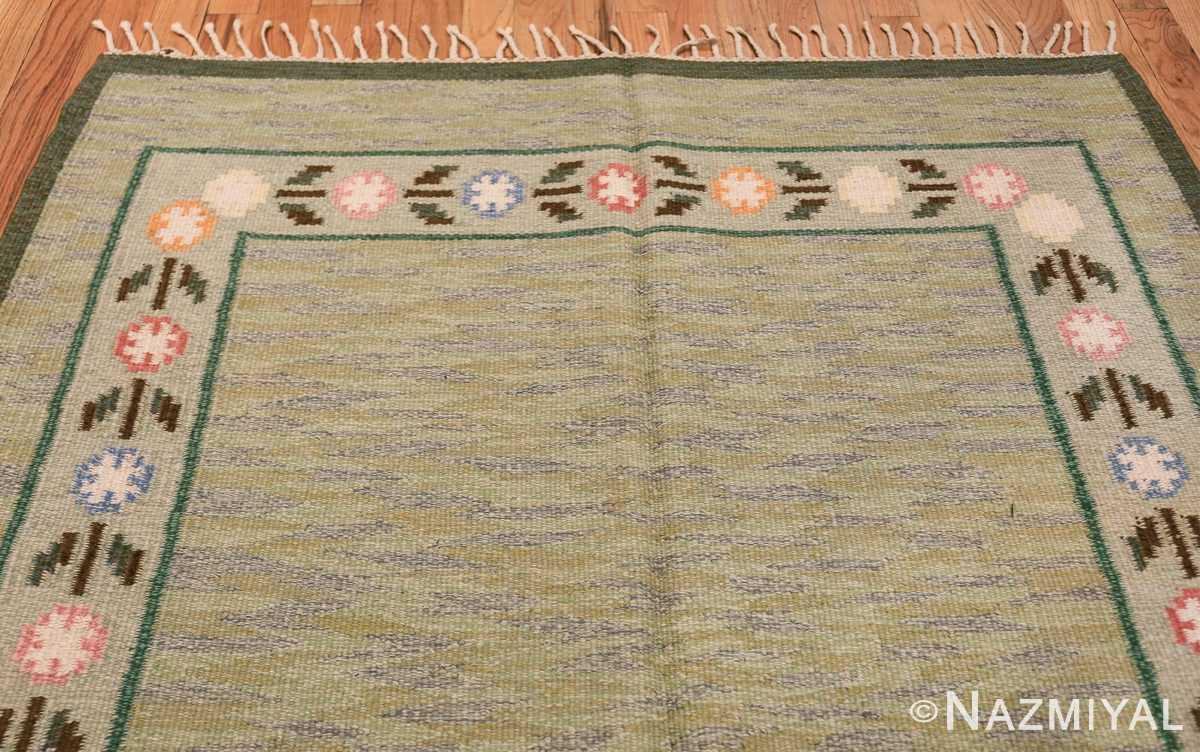 vintage swedish rug 47301 top Nazmiyal