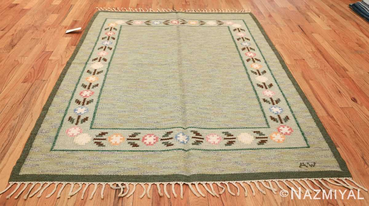 vintage swedish rug 47301 whole Nazmiyal