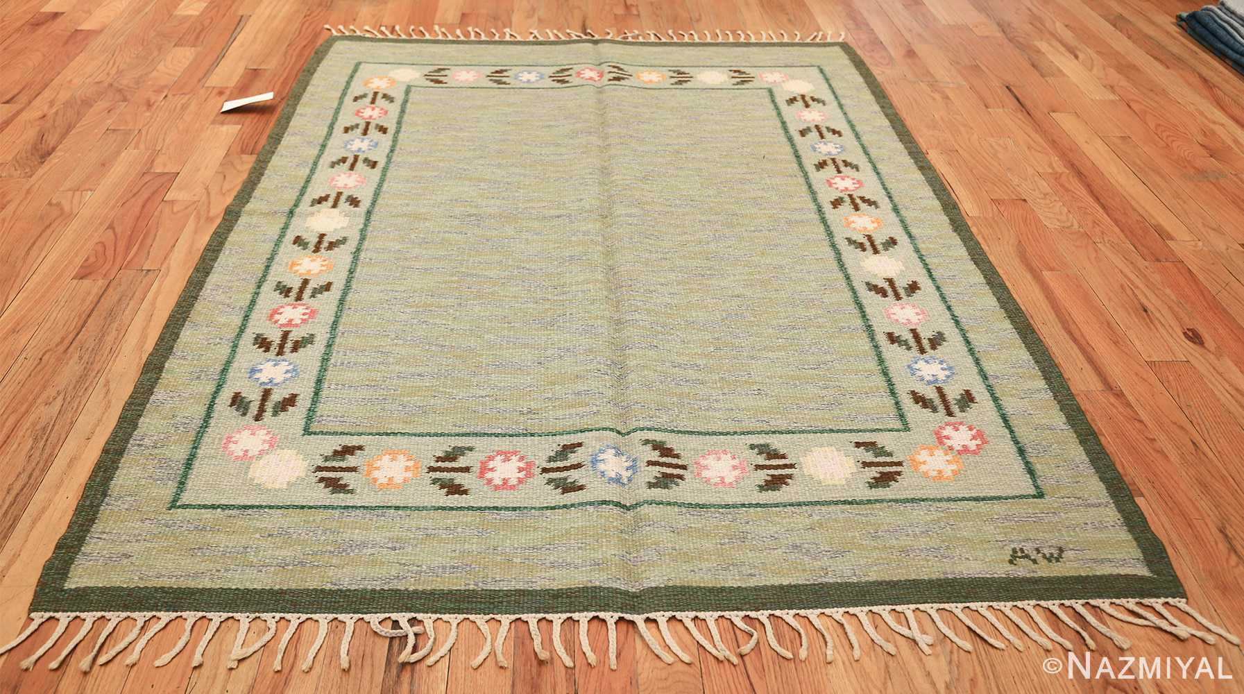 vintage swedish rug 47301 whole Nazmiyal