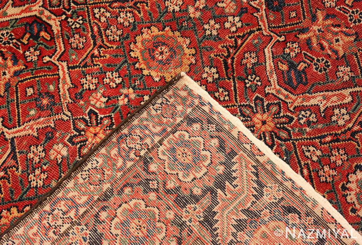Weave Large Antique Persian Farahan carpet 47201 by Nazmiyal