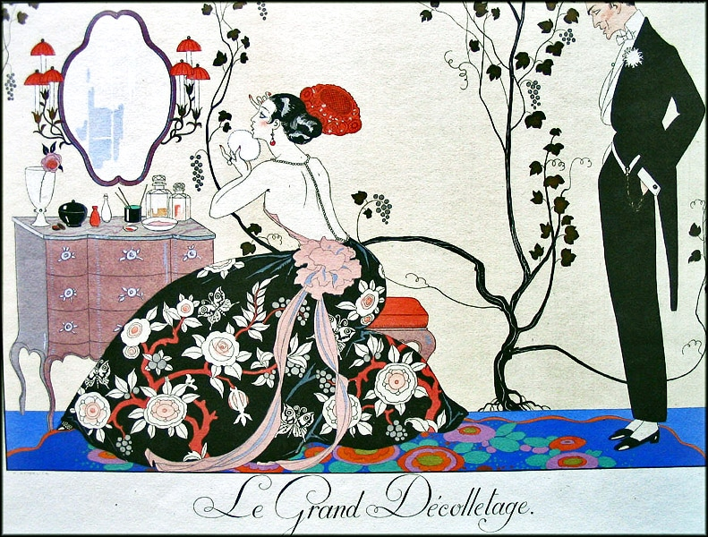 French Illustrator George Barbier Nazmiyal