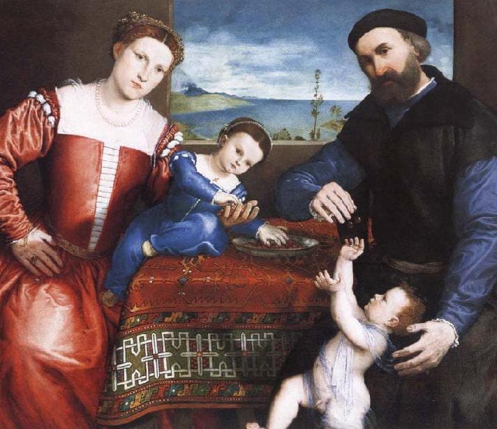 Lorenzo Lotto Rug Painting Nazmiyal