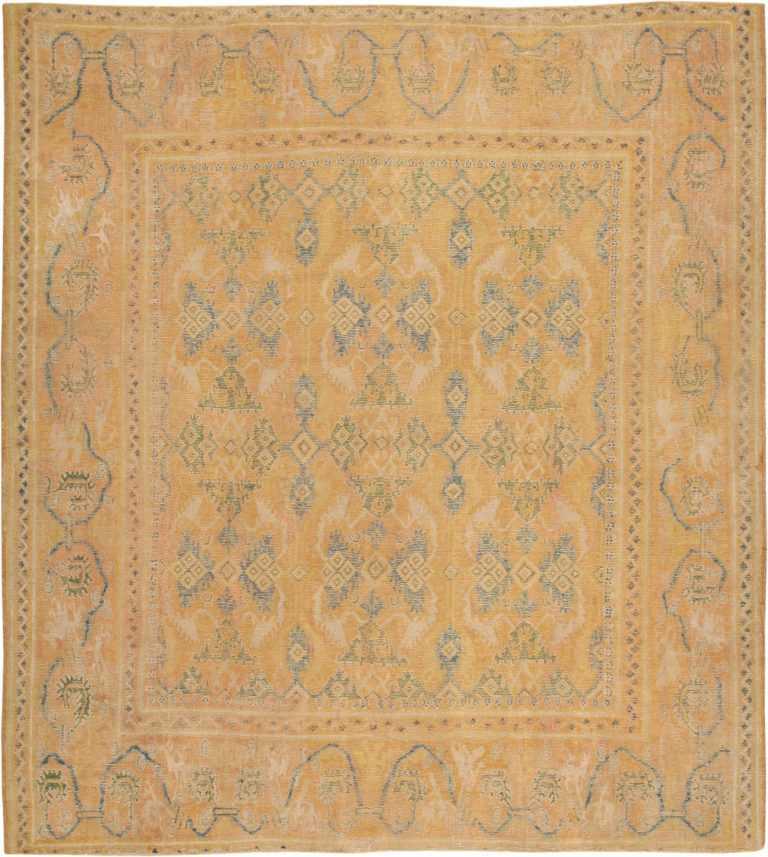 Antique 17th Century Spanish Cuenca Carpet 47370 Large Image