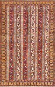 Antique Persian Tabriz Carpet 47309 Nazmiyal