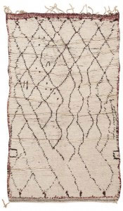Beni Ourain Moroccan Rugs by Nazmiyal
