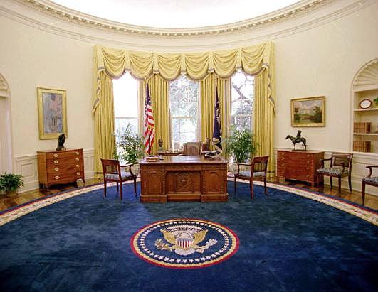 President Bill Clinton Oval Office Rug Nazmiyal Antique Carpets