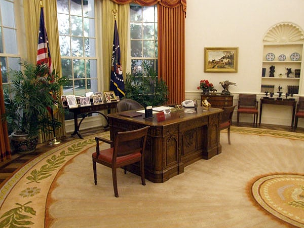 president ronald reagan oval office rug Nazmiyal Antique Rugs