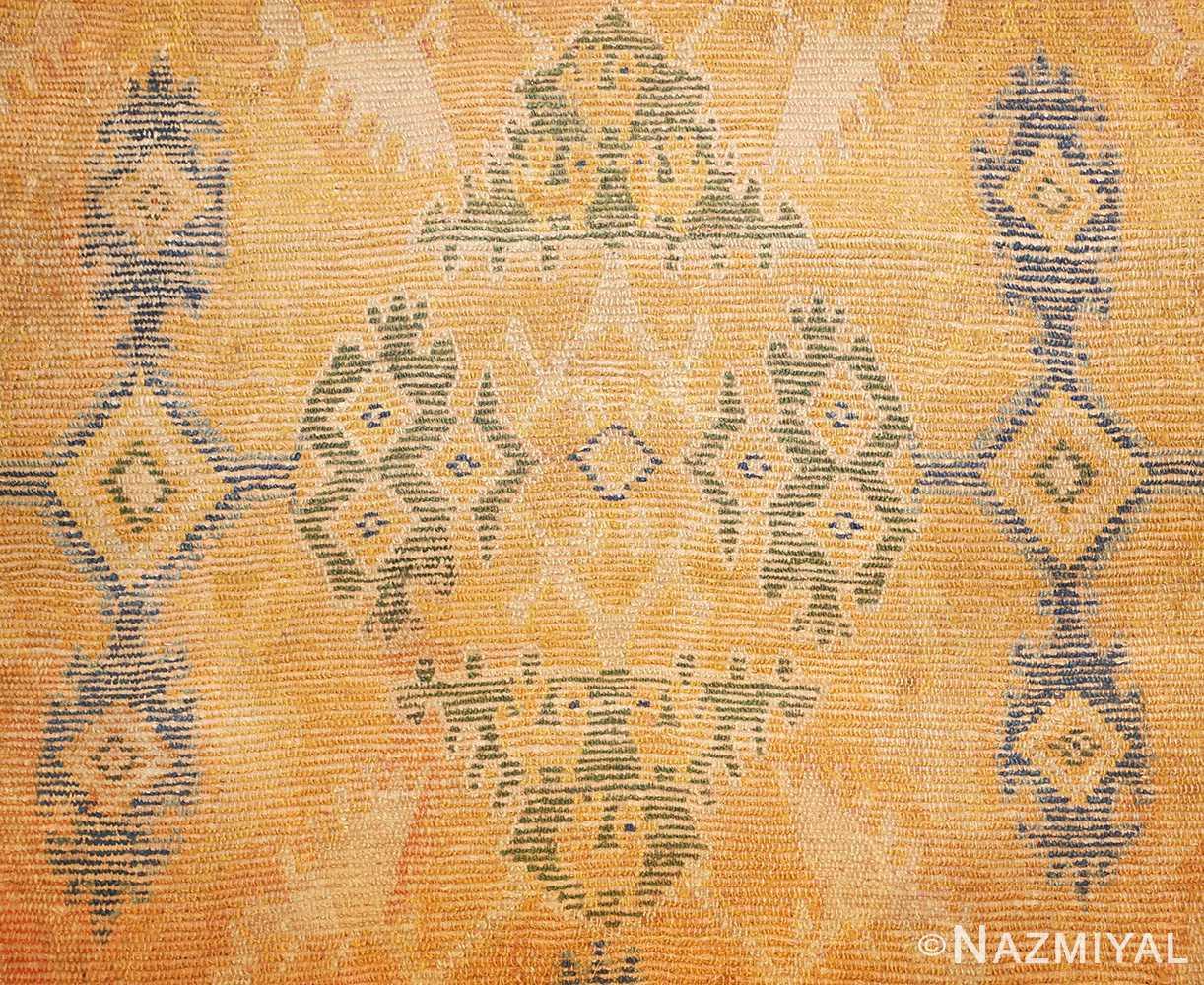 antique 17th century spanish cuenca carpet 47370 design Nazmiyal