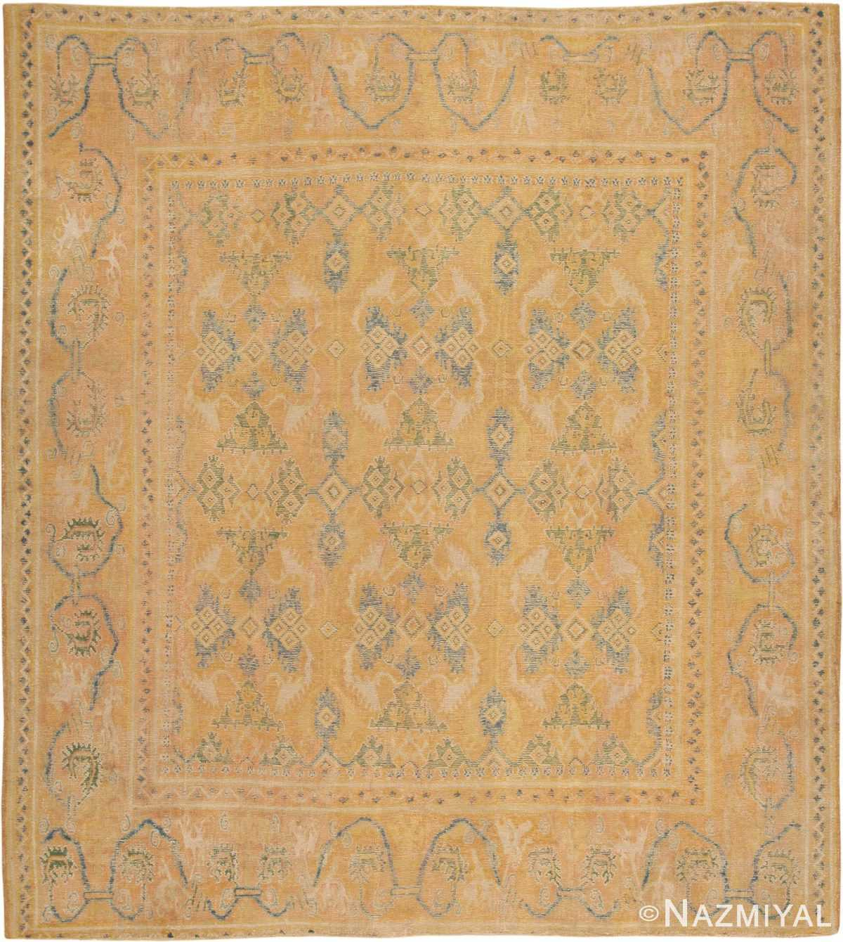 Antique 17th Century Spanish Cuenca Carpet 47370 Large Image