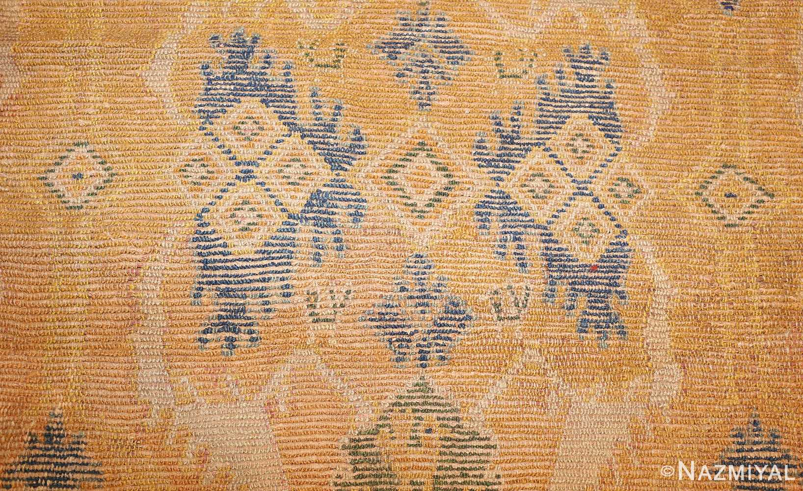 antique 17th century spanish cuenca carpet 47370 field Nazmiyal