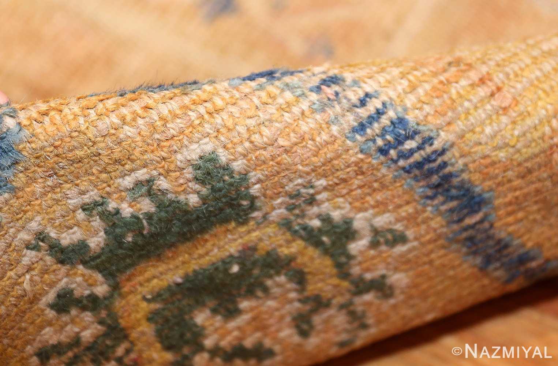 antique 17th century spanish cuenca carpet 47370 pile Nazmiyal