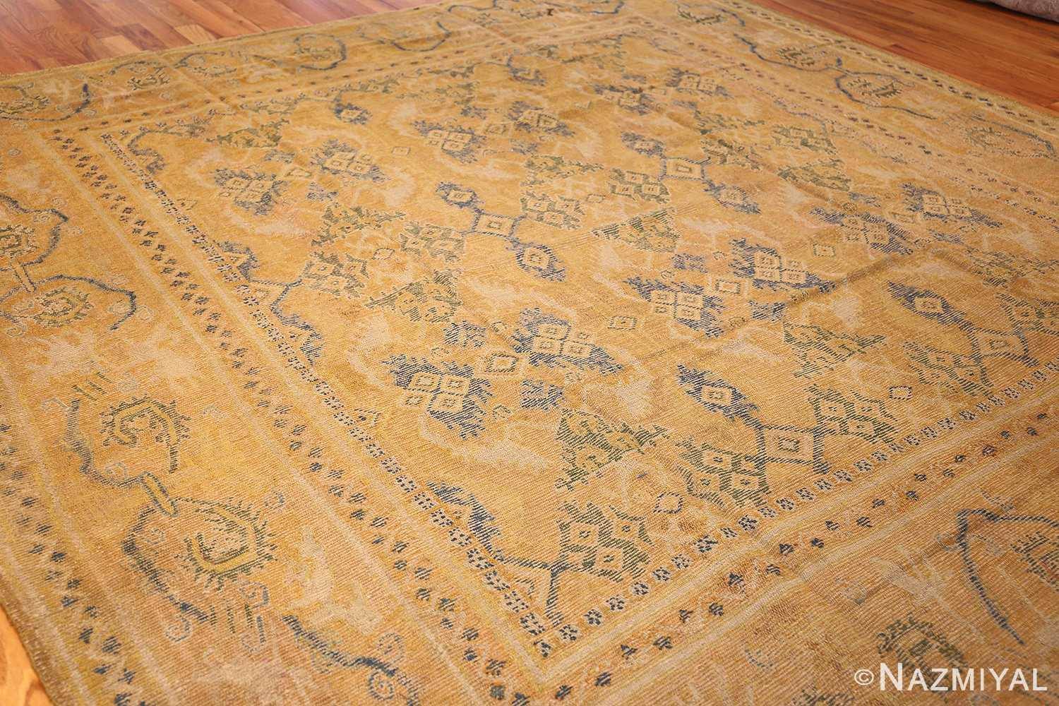 antique 17th century spanish cuenca carpet 47370 whole Nazmiyal