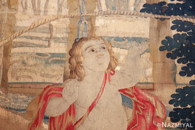 Antique 18th Century Flemish Tapestry Quot Pastoral Quot 47384