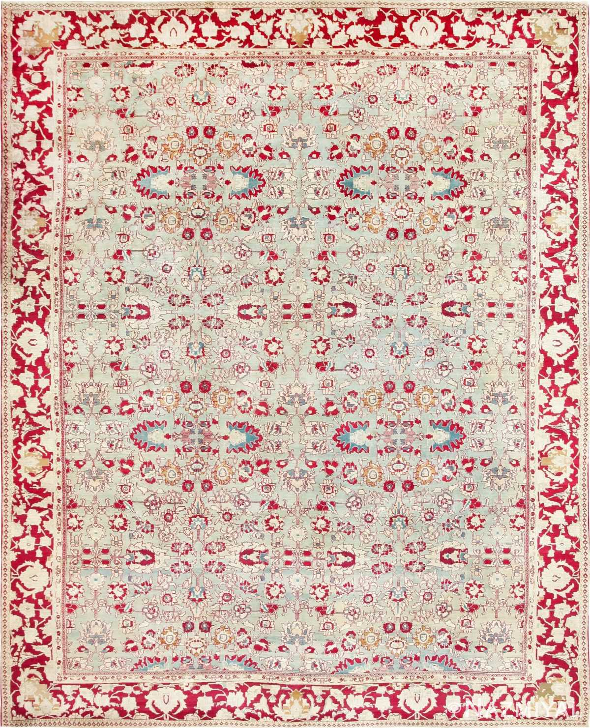 Antique Indian Agra Carpet 47369 Large Image