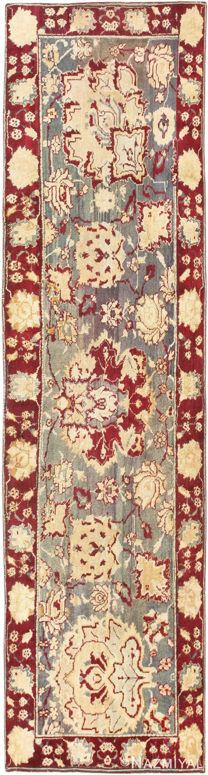Antique Indian Agra Runner 47265 Detail/Large View