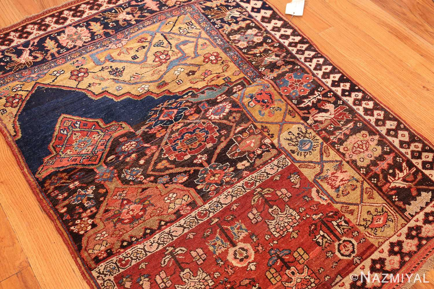 antique persian bidjar sampler rug 47377 whole Nazmiyal