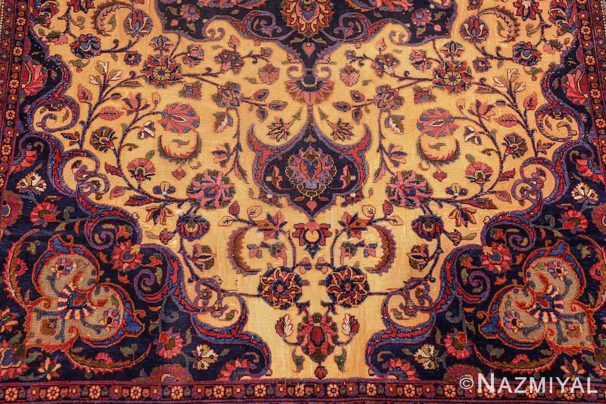 antique persian silk kashan rug 47263 top edited Nazmiyal