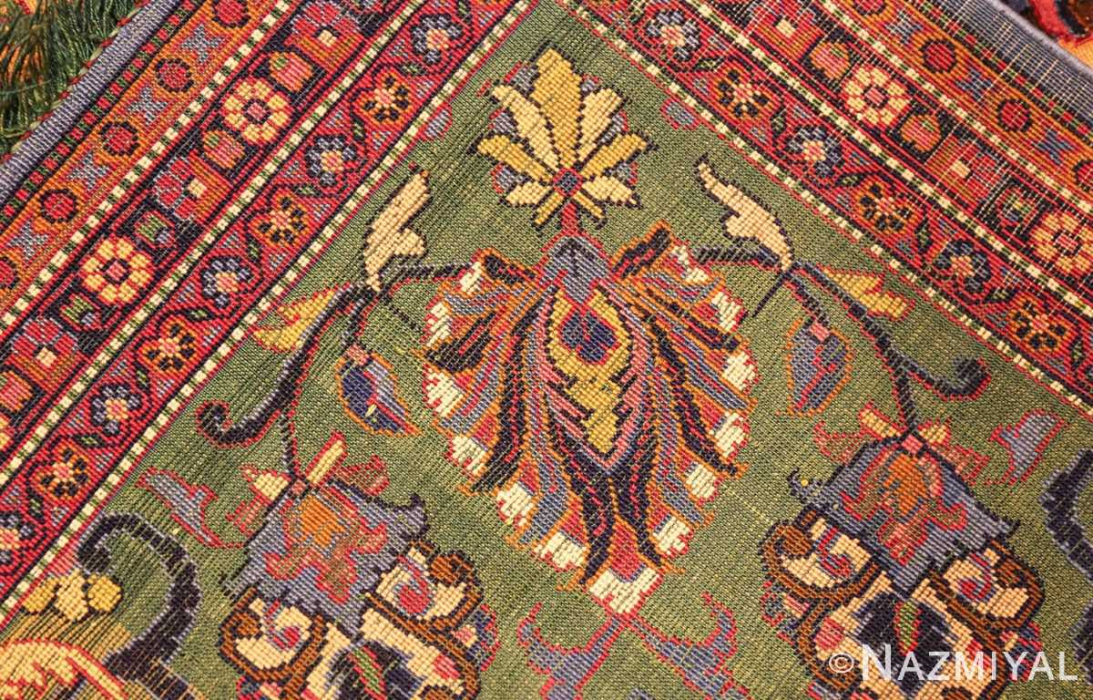 antique persian silk kashan rug 47263 weave edited Nazmiyal