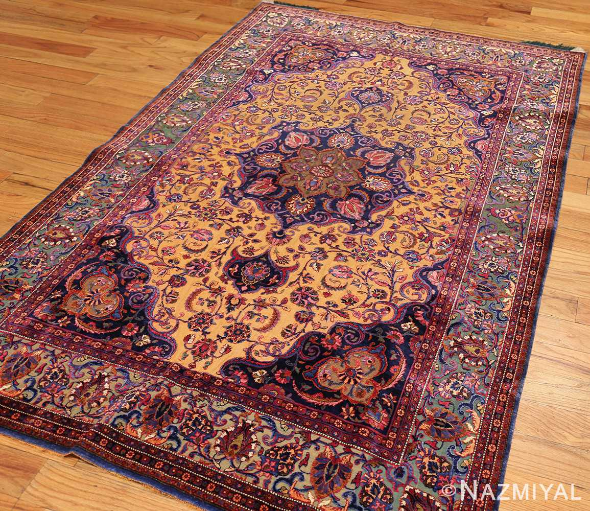 antique persian silk kashan rug 47263 whole edited Nazmiyal
