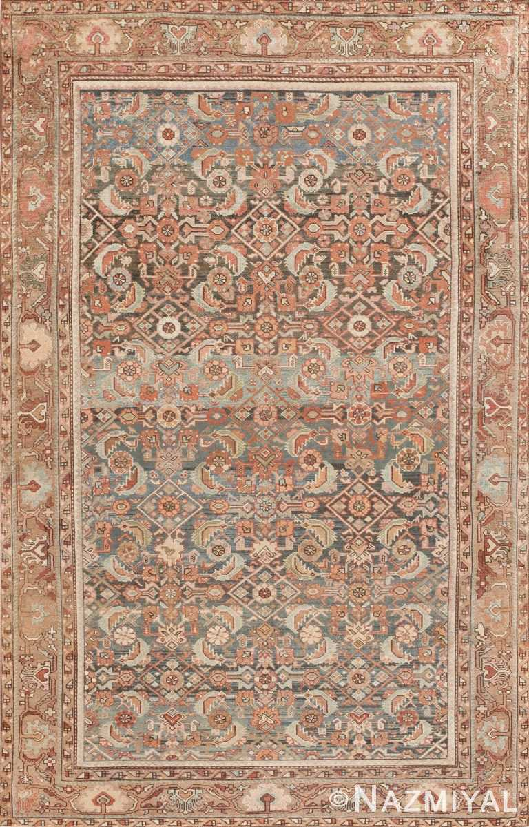 Antique Tribal Persian Malayer Rug 46765 Nazmiyal