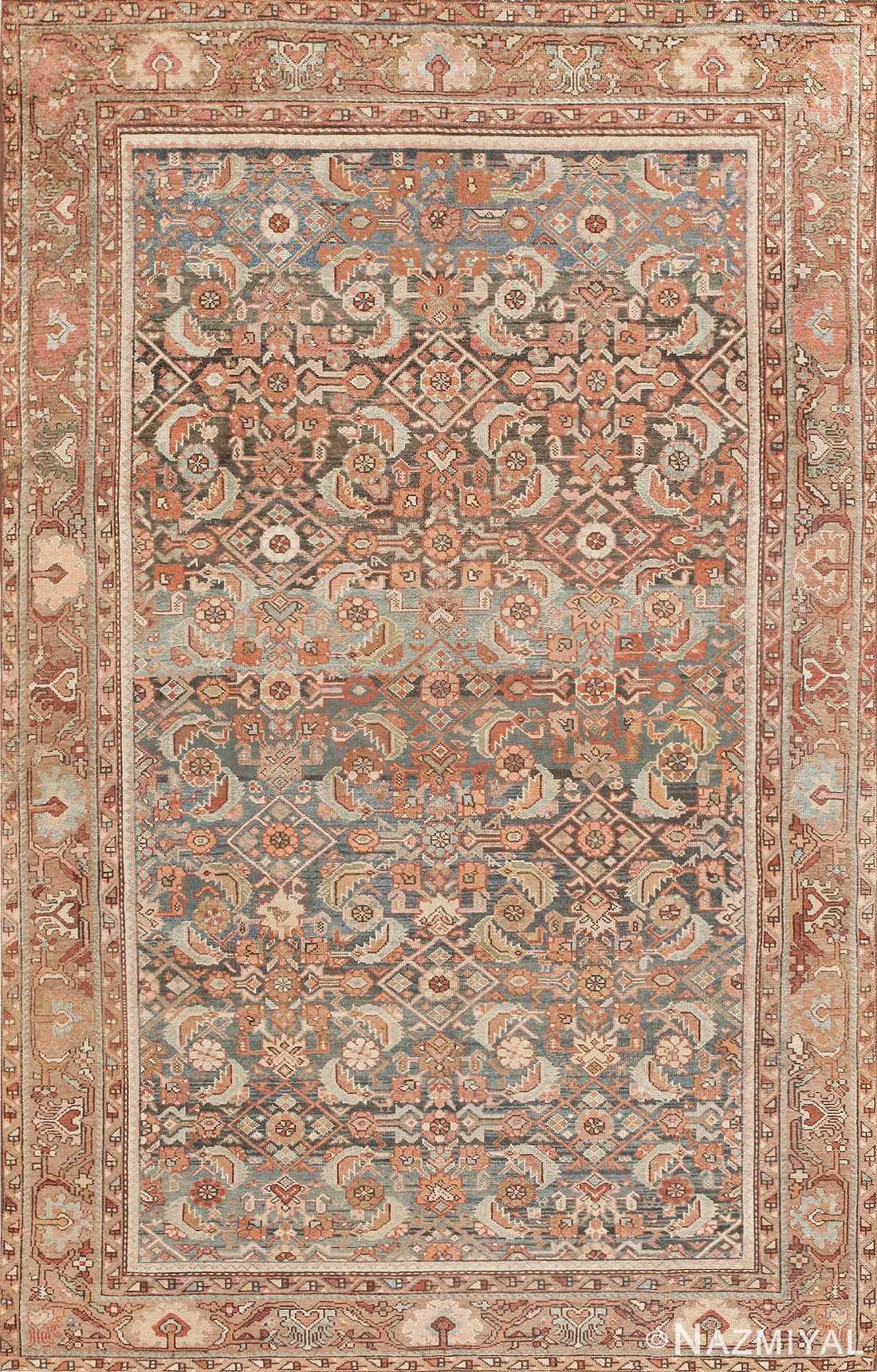 Antique Tribal Persian Malayer Rug 46765 Nazmiyal