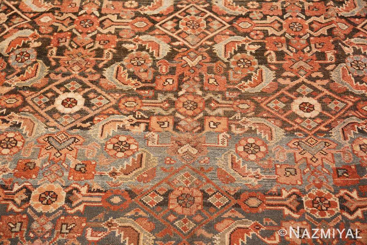 Background Antique Tribal Persian Malayer rug 46765 by Nazmiyal