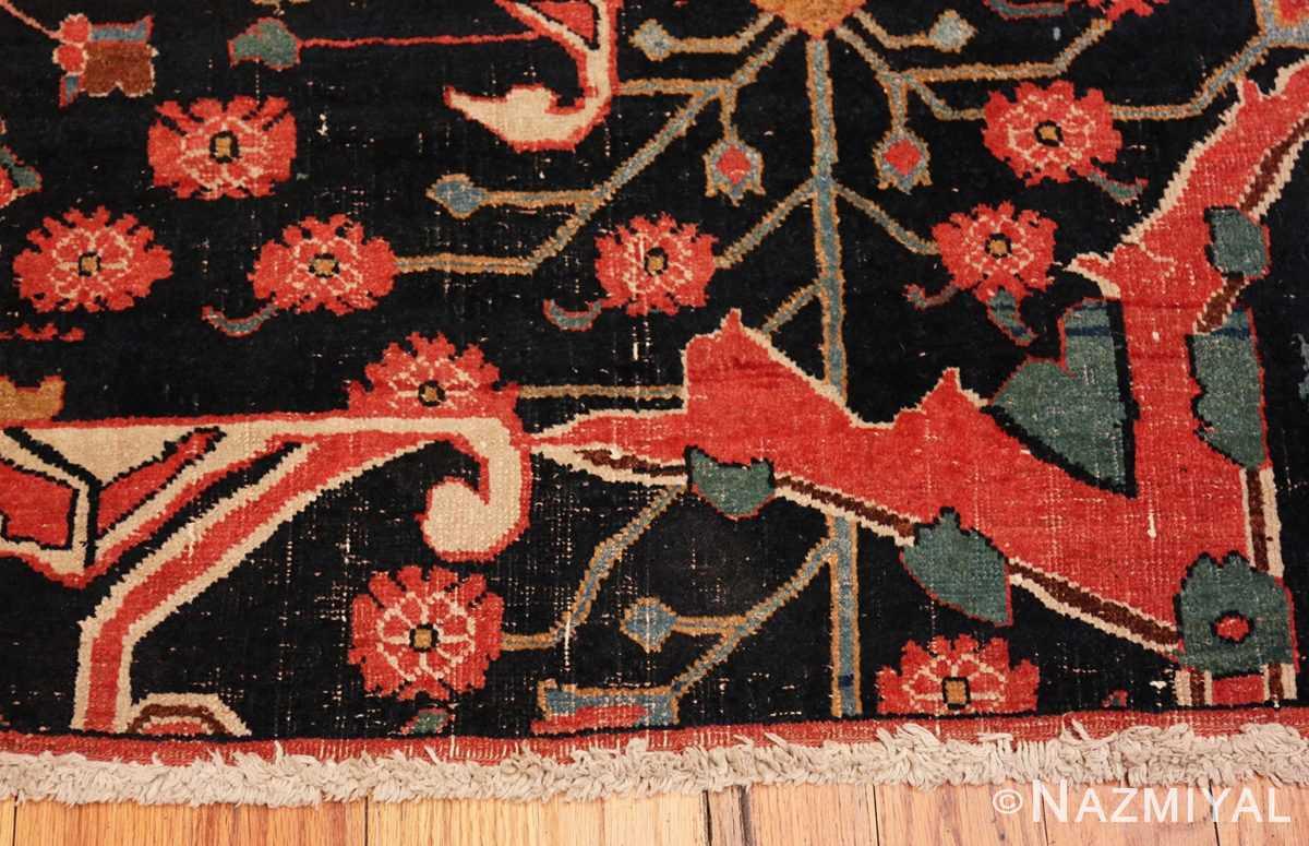 Border Antique Persian Bidjar Sampler rug 47379 by Nazmiyal