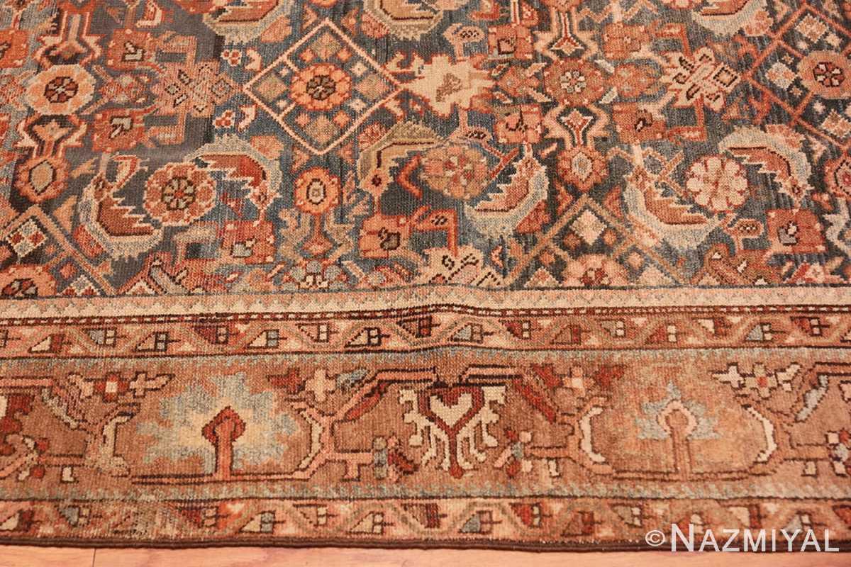 Border Antique Tribal Persian Malayer rug 46765 by Nazmiyal