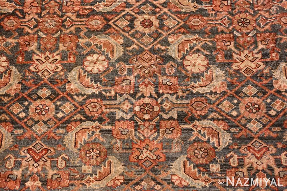 Close-up Antique Tribal Persian Malayer rug 46765 by Nazmiyal