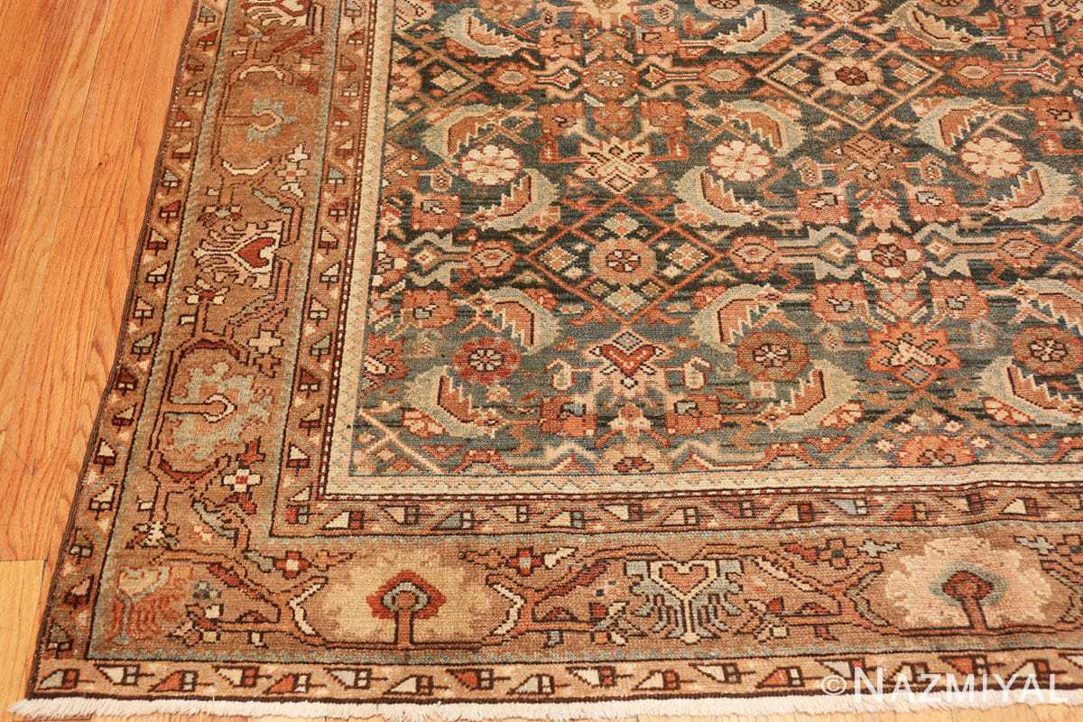 Corner Antique Tribal Persian Malayer rug 46765 by Nazmiyal