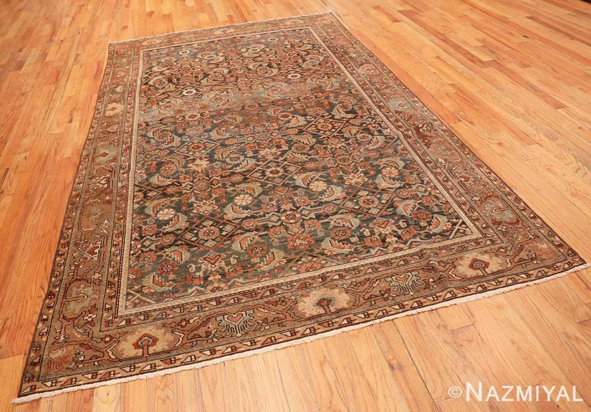 Full Antique Tribal Persian Malayer rug 46765 by Nazmiyal