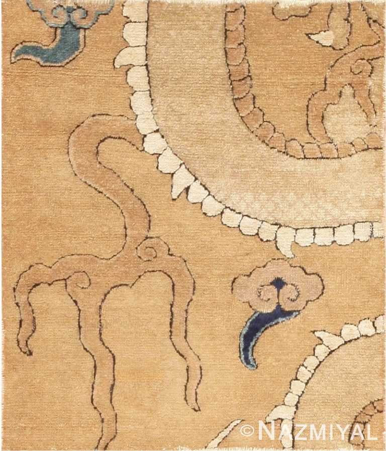 Ming Dynasty 16th Century Chinese Dragon Carpet 47381 Large Image