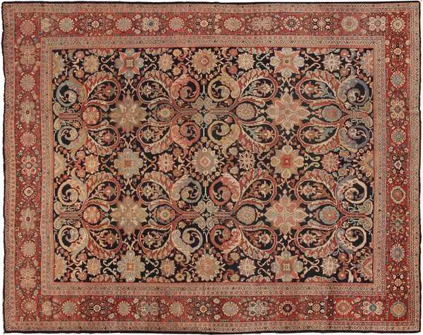Antique Decorative Persian Sultanabad Rug by nazmiyal