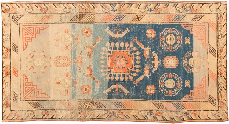 Antique Samarkand Rugs by Nazmiyal