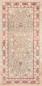 Antique Agra Carpet India 47434 Large Image