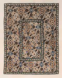 antique azerbaijan kaitag embroidery textile 47374 Nazmiyal