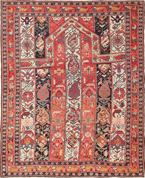 Antique Caucasian Rugs History by Nazmiyal
