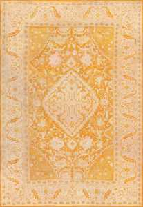Antique Oushak Rug From Turkey 49844 Nazmiyal