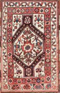 Antique Tribal Persian Kurdish Rug 47448 Detail/Large View