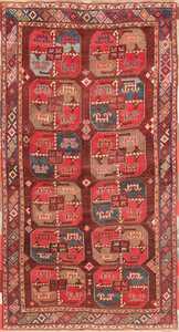 Antique Uzbek Carpet 47382 Detail/Large View